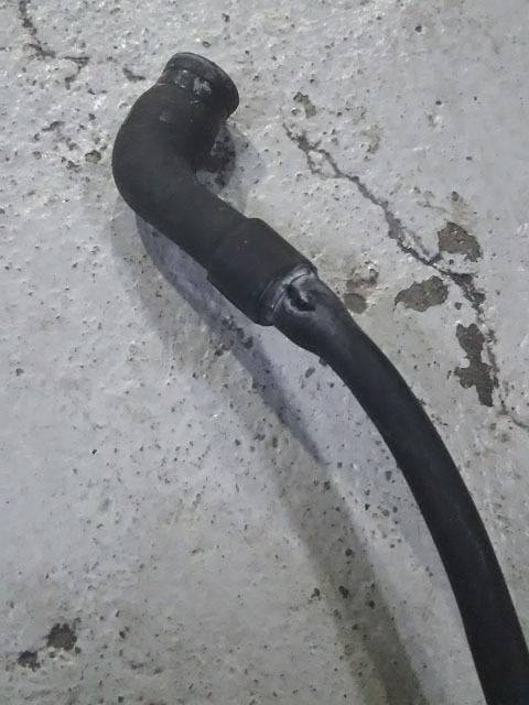 クーラント漏れ修理完了