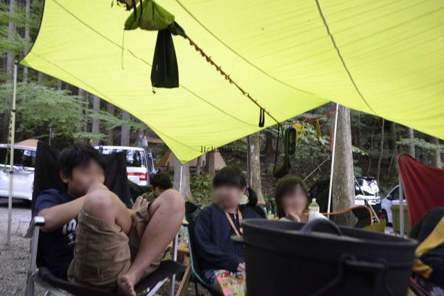 何がなんでもキャンプだし キャンプ テーブル デザインリコ 天板 汚れ ボロ隠し テーブルクロス ランチョンマット SPLASHFLASH オレゴニアンキャンパー