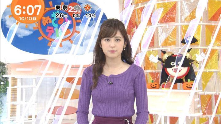 久慈暁子 めざましテレビ (2018年10月10日放送 16枚)