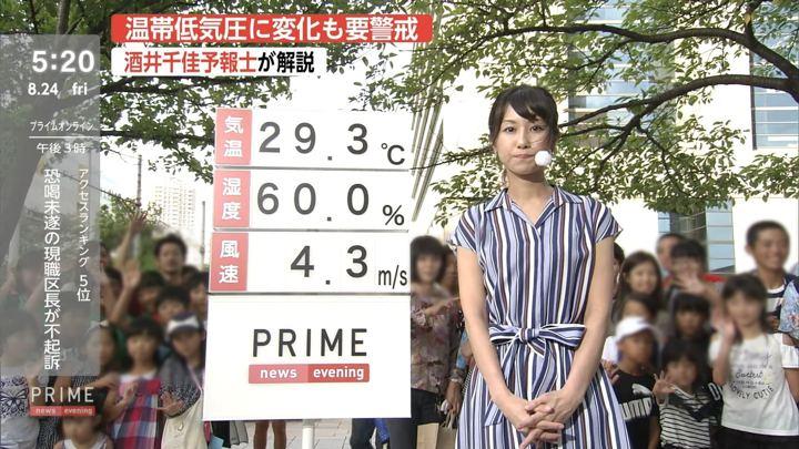 2018年08月24日酒井千佳の画像05枚目