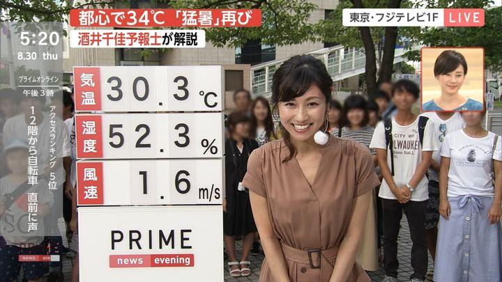 2018年08月30日酒井千佳の画像03枚目