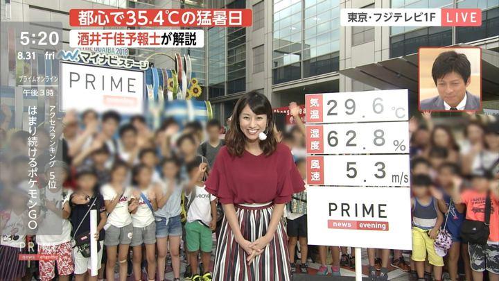 2018年08月31日酒井千佳の画像01枚目