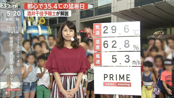 2018年08月31日酒井千佳の画像02枚目