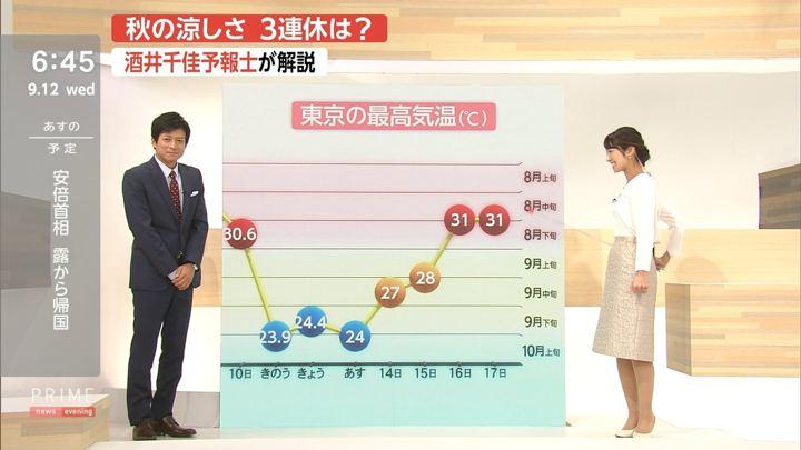2018年09月12日酒井千佳の画像09枚目