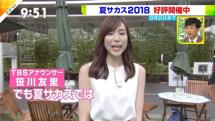 2018年08月10日笹川友里の画像14枚目