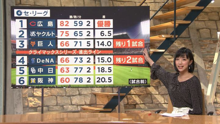 2018年10月09日竹内由恵の画像09枚目