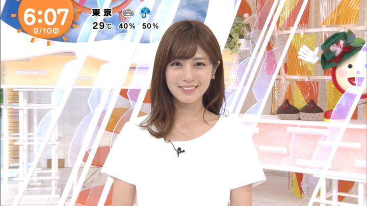堤礼実 めざましテレビ (2018年09月10日放送 14枚)