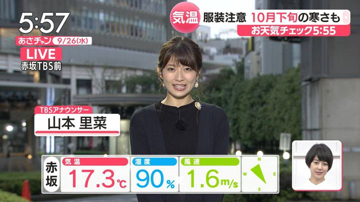 2018年09月26日山本里菜の画像03枚目