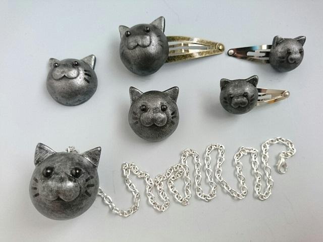 猫鉄球アクセサリー1