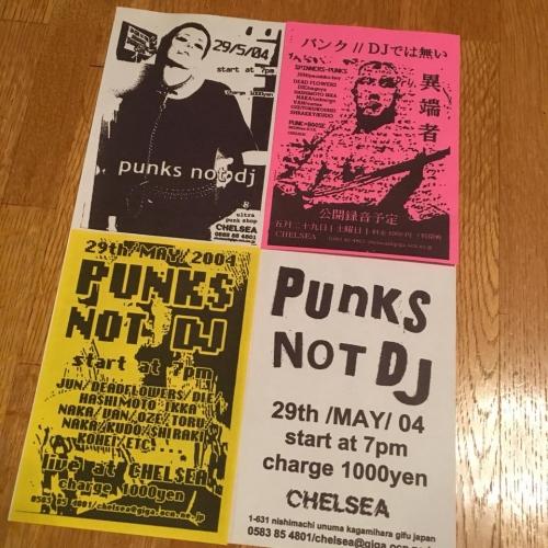 Punks flyer
