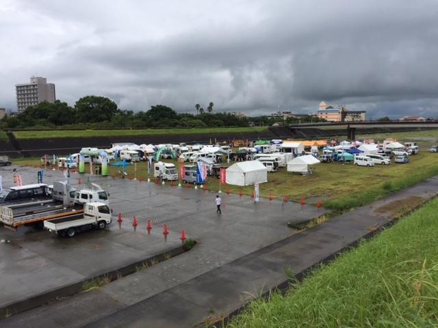 福岡・朝倉 キャンピングカーフェア in 原鶴②