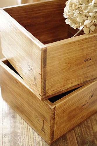 ご要望のサイズで作るオーダーメイドの木箱