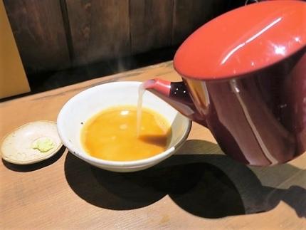 18-8-29 蕎麦湯