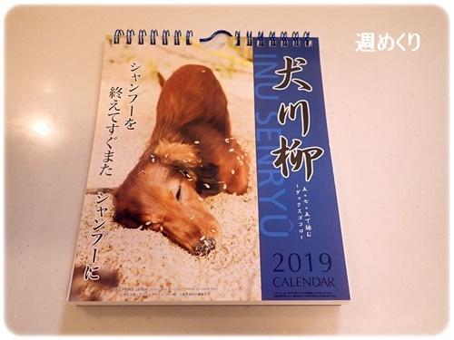犬川柳カレンダー週めくり