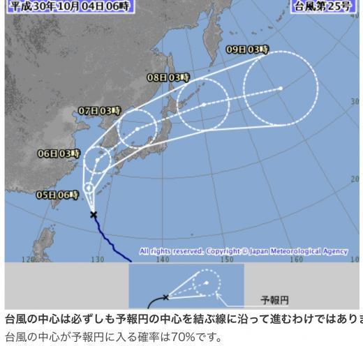 191004台風25号予報