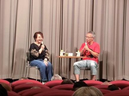 渡辺美佐子さんと井上監督のトークショー