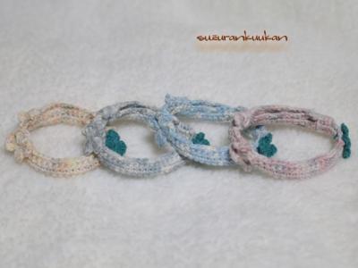 編み首輪その4
