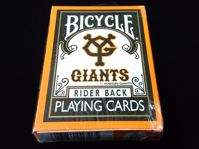 GIANTS Deck (BICYCLE) (1)