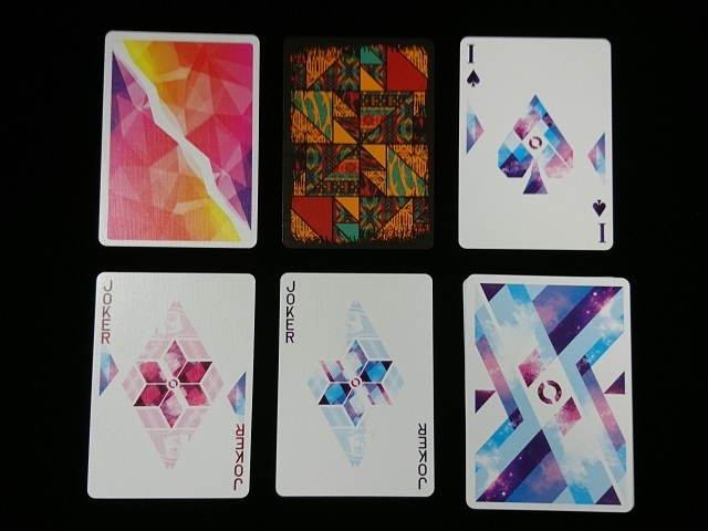 Rhombus Space Playing Cards (5)