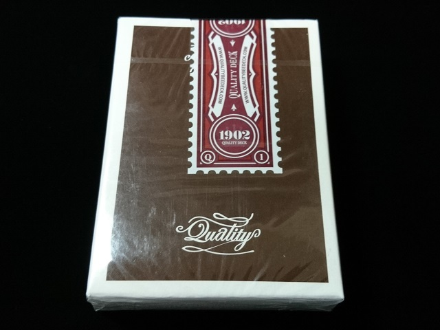 Quality Playing Cards Brown (Bee) (1)