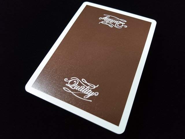Quality Playing Cards Brown (Bee) (3)
