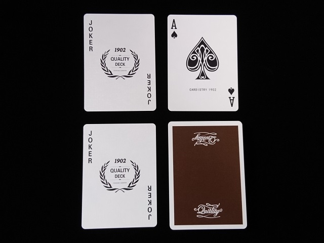 Quality Playing Cards Brown (Bee) (5)