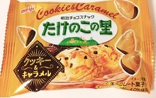 たけのこの里クッキー&キャラメル