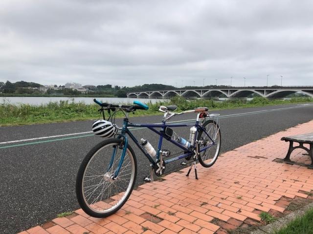 タンデム自転車 サイクリング