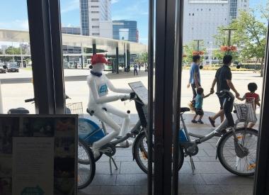 シクロくん駅ナカでクールシェアブログ用2