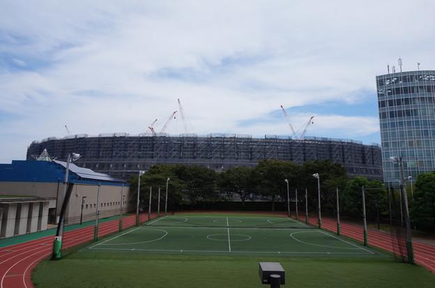 新国立競技場2018.8.30その1