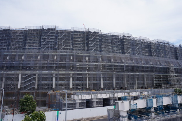 新国立競技場2018.8.30その3