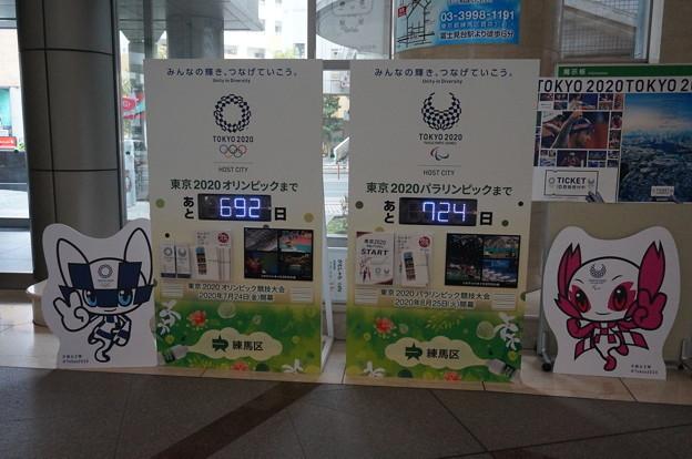 東京オリンピックまでのカウントダウン