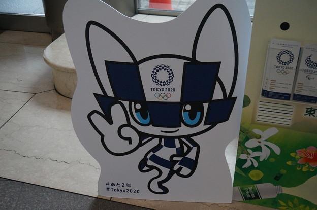 オリンピックのキャラクター