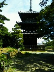 三渓園三重の塔