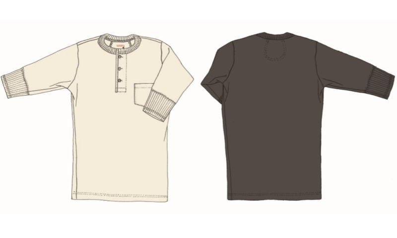 GLAD HAND HALF SLEEVE HENRY POCKET T-SHIRTS