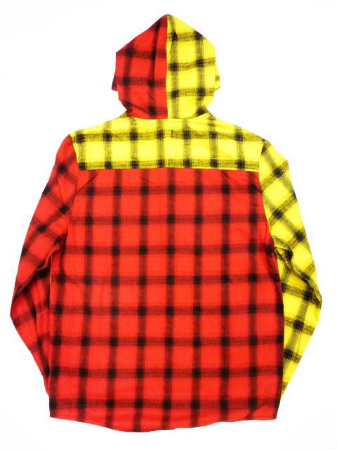 INTERFACE HOODED CHECK SH