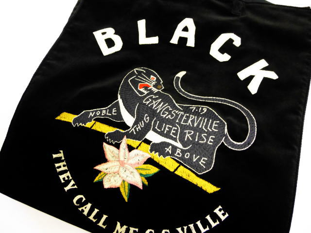 GANGSTERVILLE BLACKSVILLE-TOTE BAG
