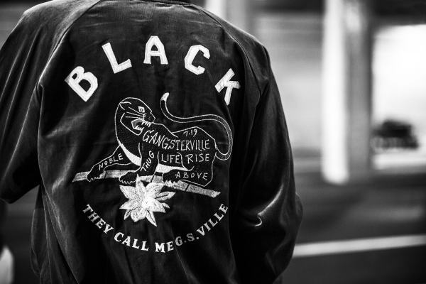 GANGSTERVILLE BLACKSVILLE-SOUVENIR JACKET