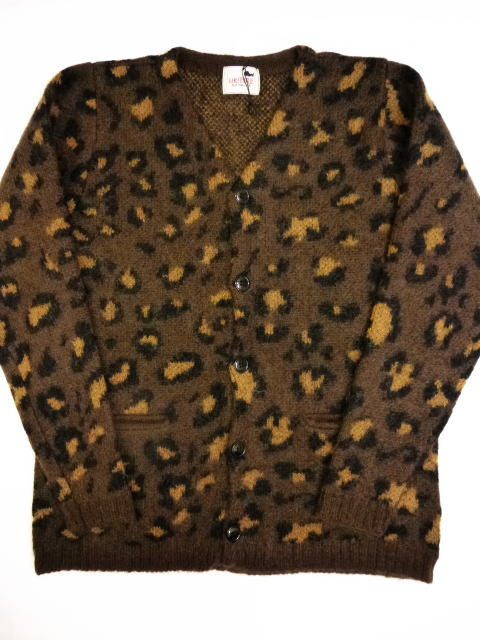 GANGSTERVILLE RISE ABOVE-MOHAIR CARDIGAN