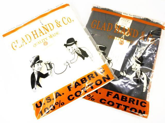 GLAD HAND WAFFLE HENRY L/S T-SHIRTS VINTAGE FINISH