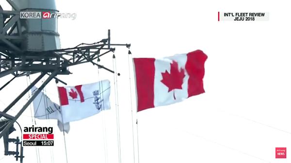 カナダ:国旗と海軍旗