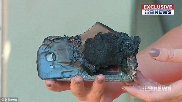 「サムスンのスマホ」が自然発火、新品で弁償申し出るも断られる―豪州