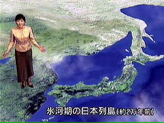 マンモスを追ってシベリアからやってきた日本人の祖先たちは、約2万年前に北海道に到達し、その後、南下し日本列島全体へと移り住んでいった。