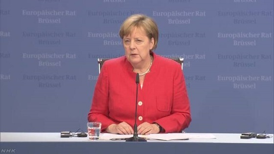ドイツのメルケル首相は29日、ギリシャとスペインからドイツに入国した難民や移民を送り返すことで両国と合意したことを明らかにしました。