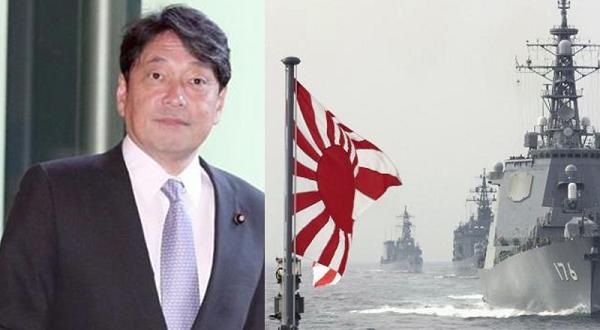 小野寺五典防衛相、韓国が要請してきた「旭日旗の掲揚自粛」について「当然、掲げる」