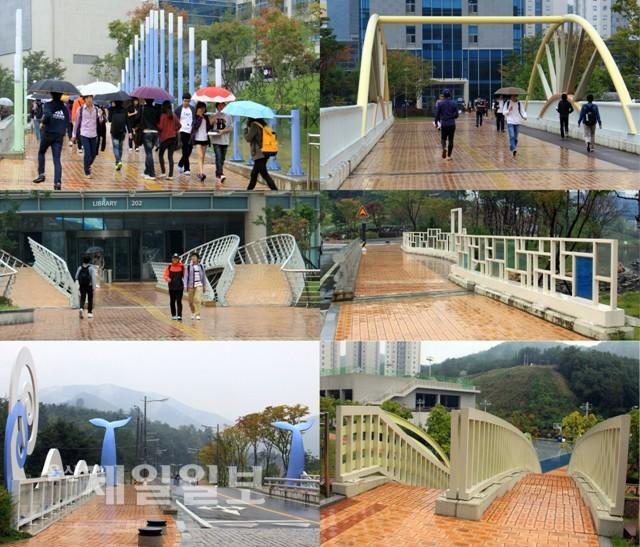 蔚山科学技術大学校のノーベル賞が出た時に初めて橋に名前を付ける予定の8つの橋