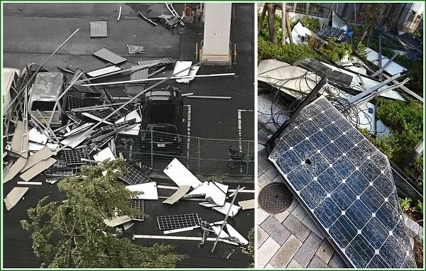 ソーラーパネルの落下被害を集めてみました。