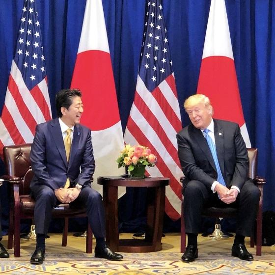 安倍晋三 今からニューヨーク を発って帰国します。滞在中、国連総会 、日米首脳会談 など、非常に充実した訪問となりました。