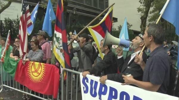 米国在住のウイグルの人など 人権問題で国連に支援訴え NHKニュース
