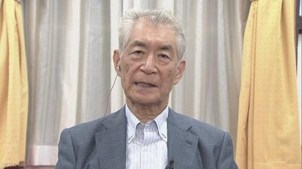 NHKのインタビューNHKアナの有馬嘉男と桑子真帆